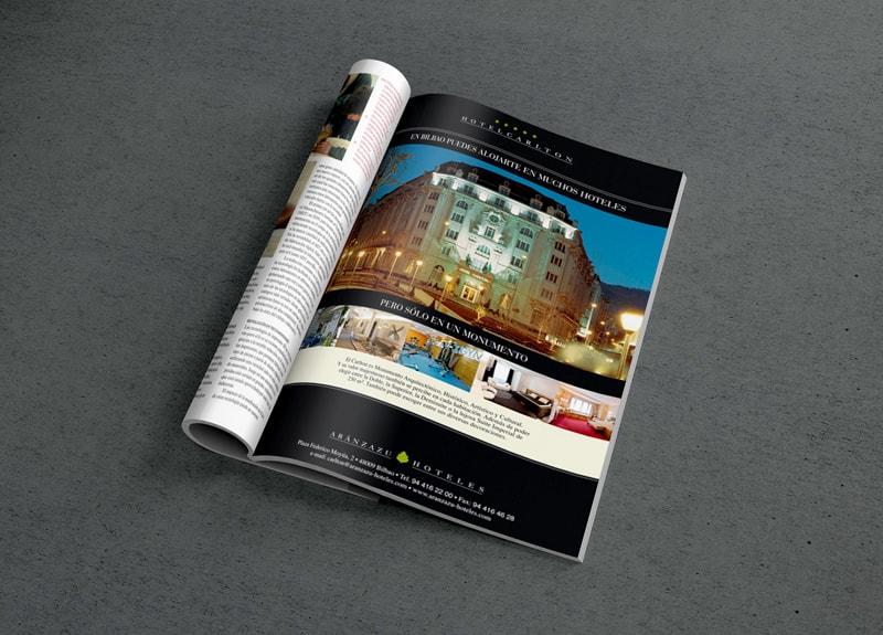 diseno-anuncios-prensa-hoteles-Bilbao