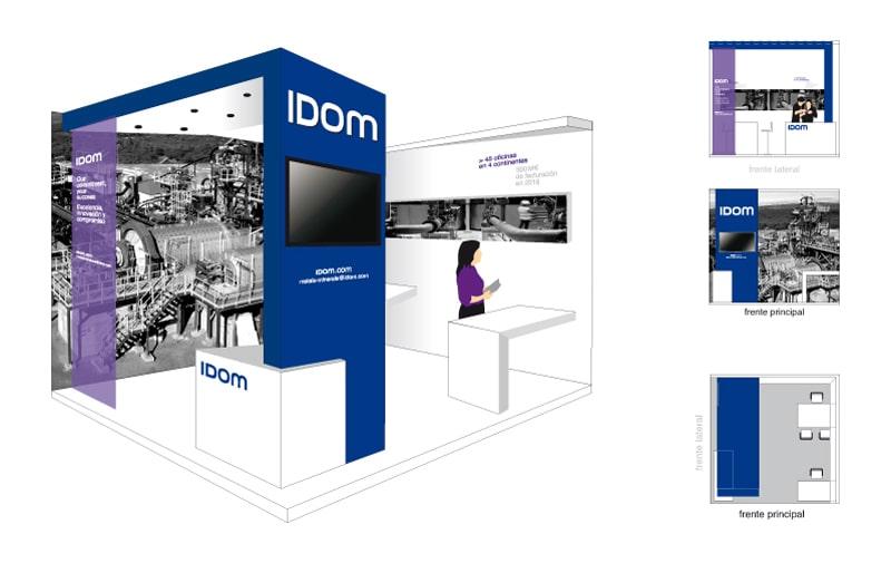 IDOM-stand